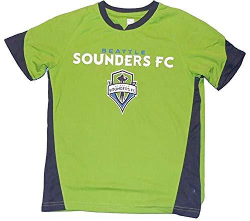 Youth Custom Seattle Sounders FC Green Fan Jersey (Youth Small (8))