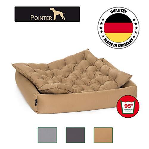 Pointer Hundebett | Orthopädisch | Trockner geeignet | waschbar bei 95°C