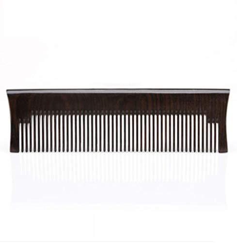 Herramientas de corte de cabello Nuevo Diente pequeño para caspa, no tarjeta, no lastime el peine de los dientes del cabello para mujeres (Color : Black)