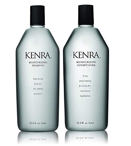 Kenra Moisturizing Shampoo and Conditioner Set, 33.8-Ounce (Packaging May Vary)