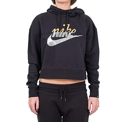 Nike Damen Sportswear Rally Sweatshirt, schwarz, XXL