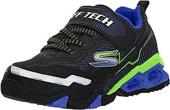 Skechers Kids Boys' Hydro Lights Sneaker, Black/Blue/Lime, 13 Medium US Little Kid