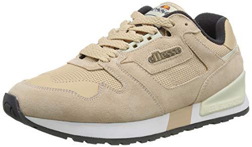 ellesse Mädchen 147 Sneaker, Mehrfarbig (Natural/Grey Nat/Gry), 35.5 EU