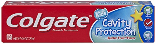 Colgate Kids Cavity Protection Toothpaste, ADA-Accepted, Bubble Fruit Flavor - 4.6 Ounce
