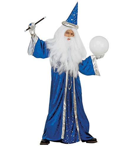 Fantasy Wizard With Velvet Robe, Hat4 Col.
