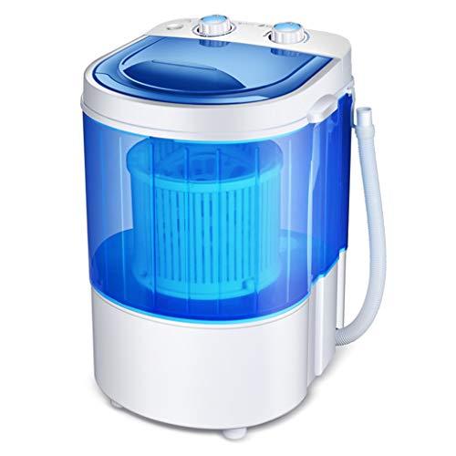 DAND Mini Lavadora Portable,Lavadora Secadora,Conjunto Compacto de Lavado y Centrifugado, Capacidad: 2.2 kg, Potencia: 260 W, para Apartamentos,Dormitorios,Campistas,Campamentos,Blue