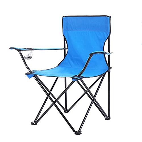 Silla De Campamento Plegable De Trabajo Pesado 50 * 50 * 80 Cm Porable Porable Porable Con La Bolsa De Titurador De La Taza De Taza Alta Para Adultos Para Adultos Camping JardíN PequeñOs NiñOs