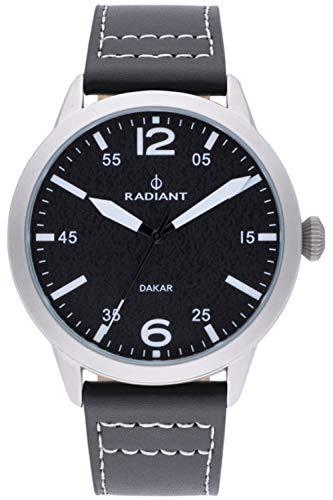 Radiant Harald Herren Uhr analog Quarzwerk mit Leder Armband RA504601
