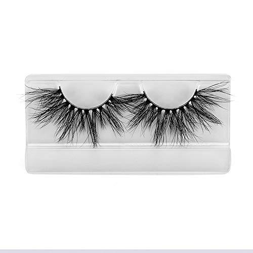 Schönheit Wispien Fluffies Dick lang Werkzeuge zum Einbinden 25mm Wimpern Erweiterung der Augenlast 100% 3D Mink Hair Falsche Augenbrauen(SK10)