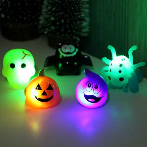 Halloween Ringe Spielzeug Finger Partyartike BESTZY 10pcs Halloween Dekoration Mini Gartendekoration Ring Kinder Mädchen