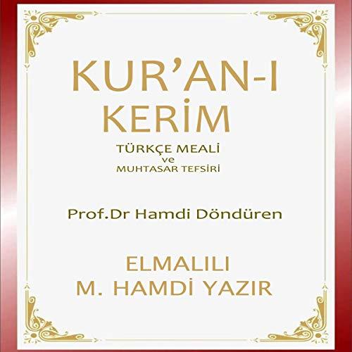 Kurani Keri̇m Türkçe Meali̇ Ve Muhtasar Tefsi̇ri̇ [Quran Turkish Translation and Concise Commentary] Titelbild