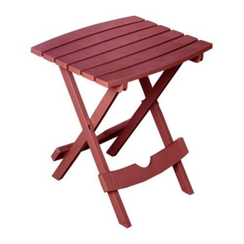 Adams Manufacturing 8510-95-3700 Quik-Fold Side Table, Merlot