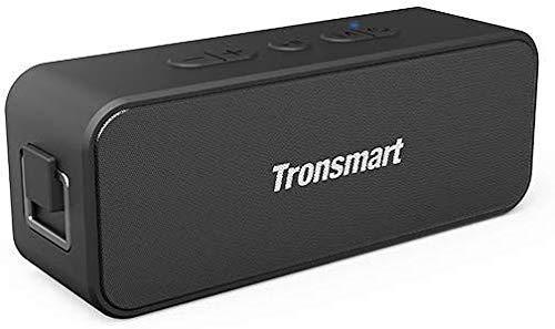 Tronsmart T2 Plus Bocina Bluetooth 20W, Bocina Portátil Impermeable IPX7, 24 Horas de Reproducción, Sonido Estéreo TWS, Bluetooth...