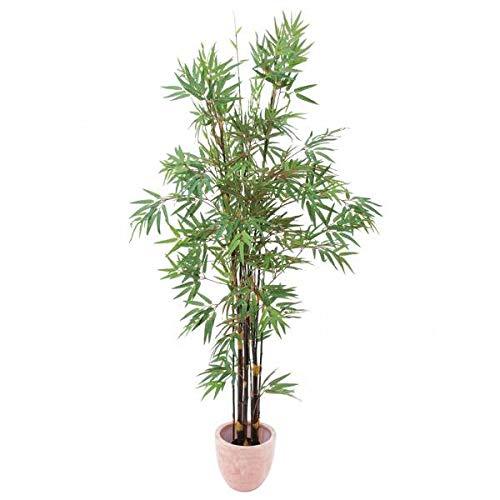 Bambú Artificial con 2335 Hojas, Troncos Oscuros, 240 cm - Planta Artificial/árbol sintético - artplants