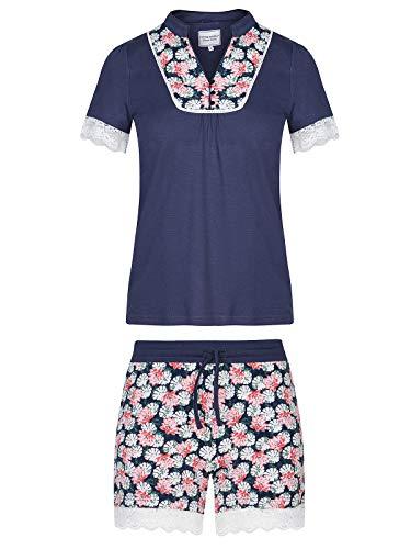 Vive Maria Asia Dream Pyjama Blau Allover, Größe:XS