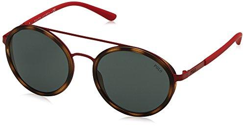 Ralph Lauren POLO 0PH3103 Gafas de sol, Semi Shiny Red, 49 para...