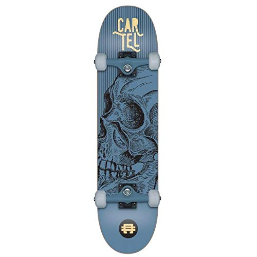 Cartel Skate Complet 7.8 Zoll Calavera Metal Blue