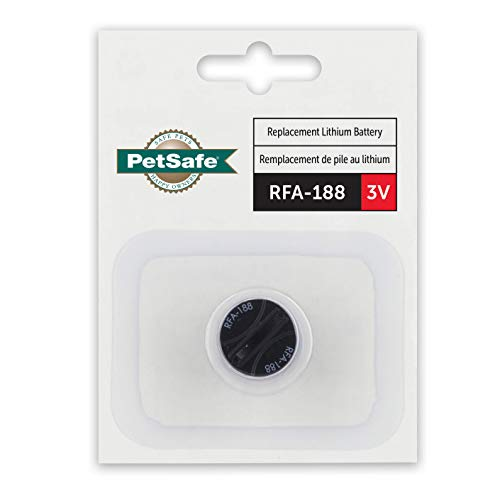 PetSafe RFA-188 3 Volt Replacement Battery Module - Compatible with PetSafe 3V Lithium Battery-Operated Dog Bark Collars and Little Dog and Cat In-Ground Fence Collars