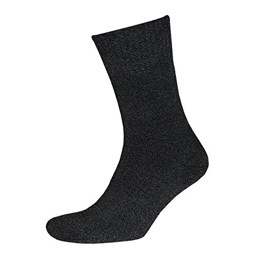 Sympatico Soft und Warm Socken (2 Paar) Color anthrazit melange, Size 39-42