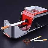 GUOHAPPY Máquina enrolladora de Cigarrillos, máquina de Rodillos de Tabaco con inyector automático eléctrico, Utilizada para inyectores de Cigarrillos y Tabaco, fácil de Usar y almacenarRed