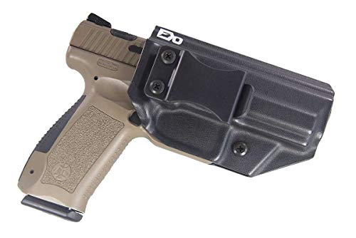 Fierce Defender IWB Kydex Holster Canik TP9SA The Winter Warrior Series - Made in USA- (Black)
