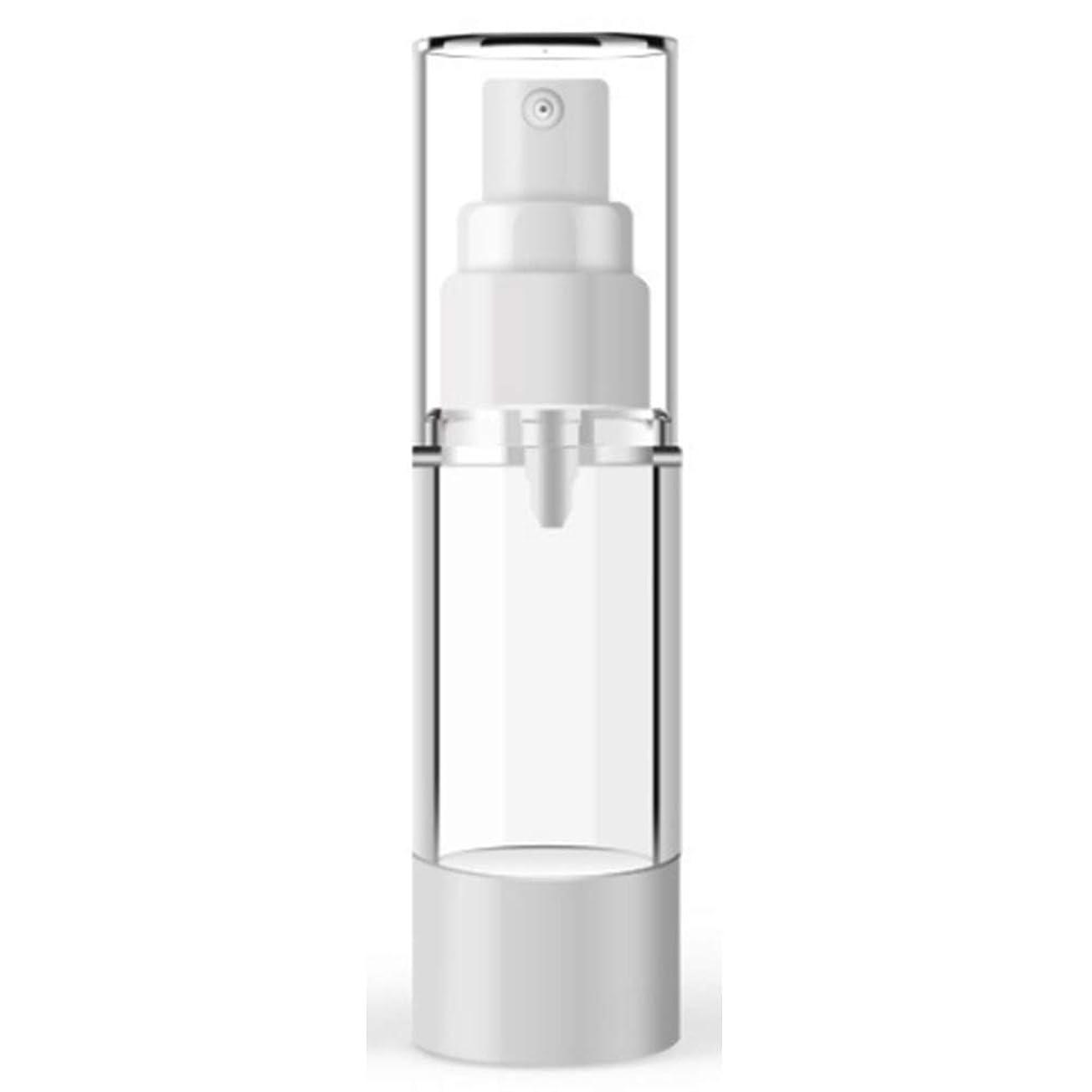 最も遠いディスクブルームPearrys スプレーボトル アルコール 新型コロナウイルス対策 15ミリリットル - 100ミリリットルプラスチック化粧品ボトル詰め替えボトルエマルジョンスプレー透明エアレスポンプ 除菌 消毒 虫除け真空容器 15ml flat mouth vacuum spray bottle