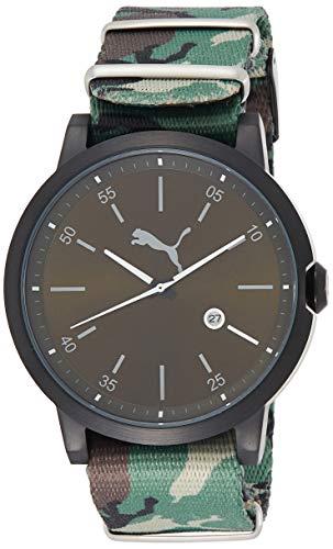 PUMA TIME Reloj Analogico para Hombre de Cuarzo con Correa en Tela PU104231004