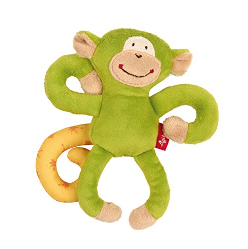 Sigikid - Babyspielzeug in Grün, Größe 17 x 15 x 8 cm