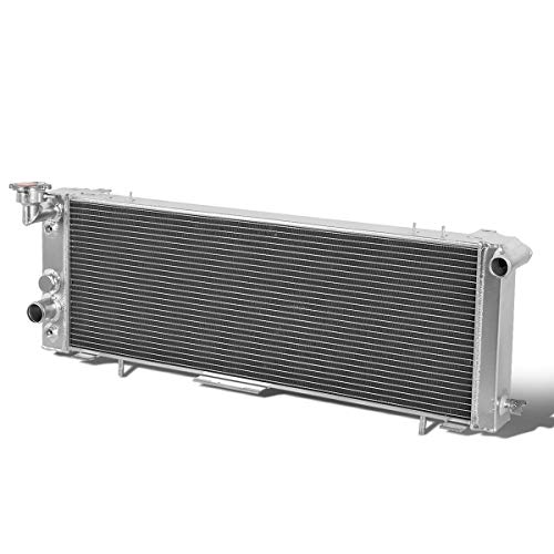 Full Aluminum 3-Row Racing Radiator Compatible with Jeep Cherokee Comanche 2.5L 4.0L 1991-2001