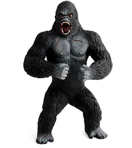 Warmtree 7.5 inch Orangutan Figurines Gorilla Model Plastic Animal Action Figure for Collection Science Educational