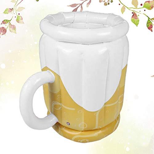 Cubo de hielo de vino de champán Inflable cerveza cubo de hielo que sirve cerveza de barril de cerveza de hielo engrosamiento de la cerveza contenedor de almacenamiento al aire libre cubo de hielo for