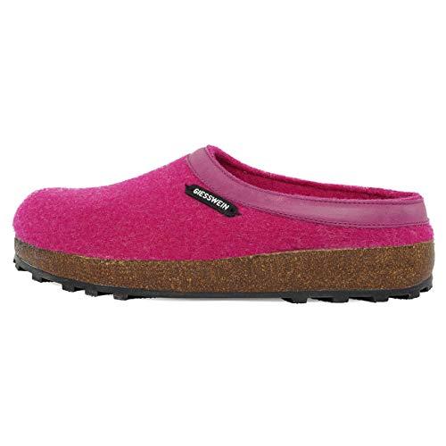 Giesswein Chamerau, Pantofole Unisex-Adulto, Rosa (Mora 316), 38 EU