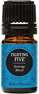 Edens Garden Fighting Five Essential Oil Synergy Blend, 100% Pure Therapeutic Grade (Aromatherapy Oils- Cold Flu & Detox),...