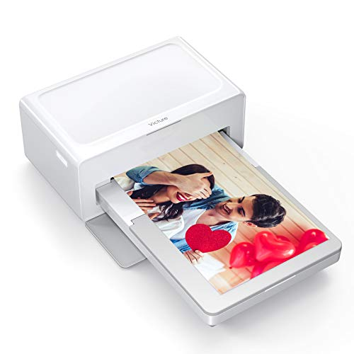 Victure Photo Printer, Print (4 x 6) inch Photos, Bluetooth Instant Photo Printer, Android & iOS devices, only printer