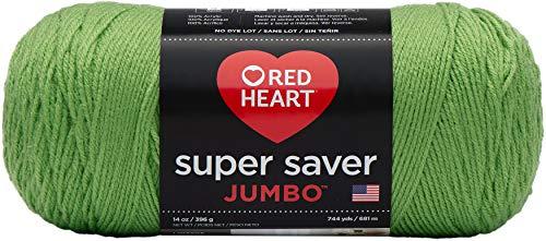 Red Heart Super Saver Yarn, Spring Green