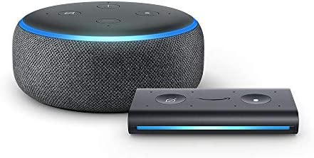 Best Echo Dot (3rd Gen) Charcoal with Echo Auto