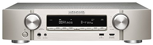 Marantz NR1607/N1SG 7.2 Kanal 4K Netzwerk A/V-Receiver (WLAN, Bluetooth, Airplay, Spotify Connect, Internetradio, DTS-X, Dolby Atmos) silber