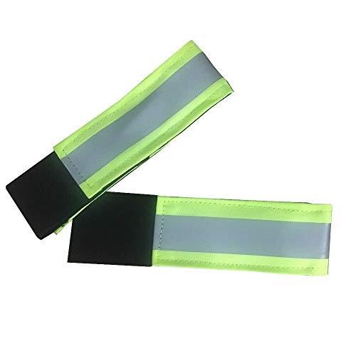 netproshop Sicherheits Pferde Reflexband mit Klettverschluss für Gamaschen One Size (1 Paar)