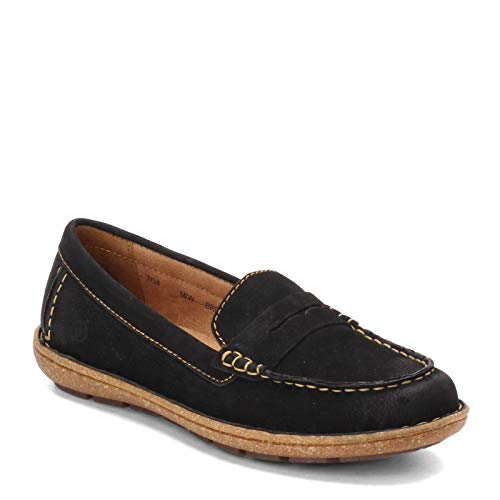 BORN Women's, Nerina Loafer Black 7.5 M