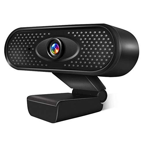 3T6B Webcam pour PC, CaméRa Web USB, CaméRa Externe Plug-and-Play sans Pilote HD 1080p avec Microphone pour Les Appels Vidéo, l'Enregistrement, Les ConféRences, Les Jeux (1080p)