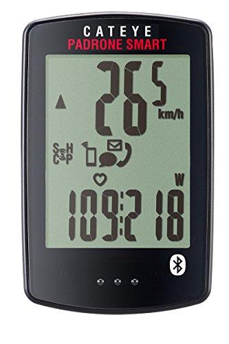 CAT EYE 1604220 Padrone Smart Wireless Bike Computer, One Size, Double