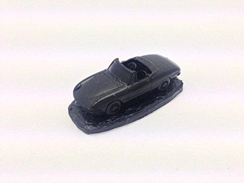 Alfa Romeo Spider 'Round Tail' ref1 negro escala 1:92 modelo coche hecho a mano