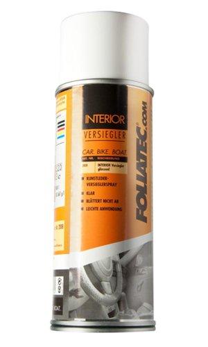Foliatec 2008 Interior Color Spray Versiegler ist ideal zum Schutz und Versiegeln nach Anwendung von Interior Color Spray, Transparent glänzend, 400 ml