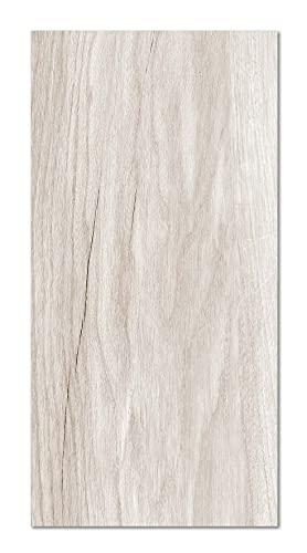 Panorama Alfombra Vinílica Textura Madera Beige 40x80 cm - Alfombra en Vinilo - Alfombra Salón Antideslizante, Antihongos e Ignífuga - Alfombras Grandes - Alfombras PVC