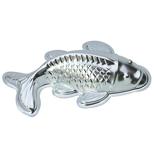 WOTOY 10-inch Non-stick Animal Fish Cake Baking Pan Aluminum Pans Mold
