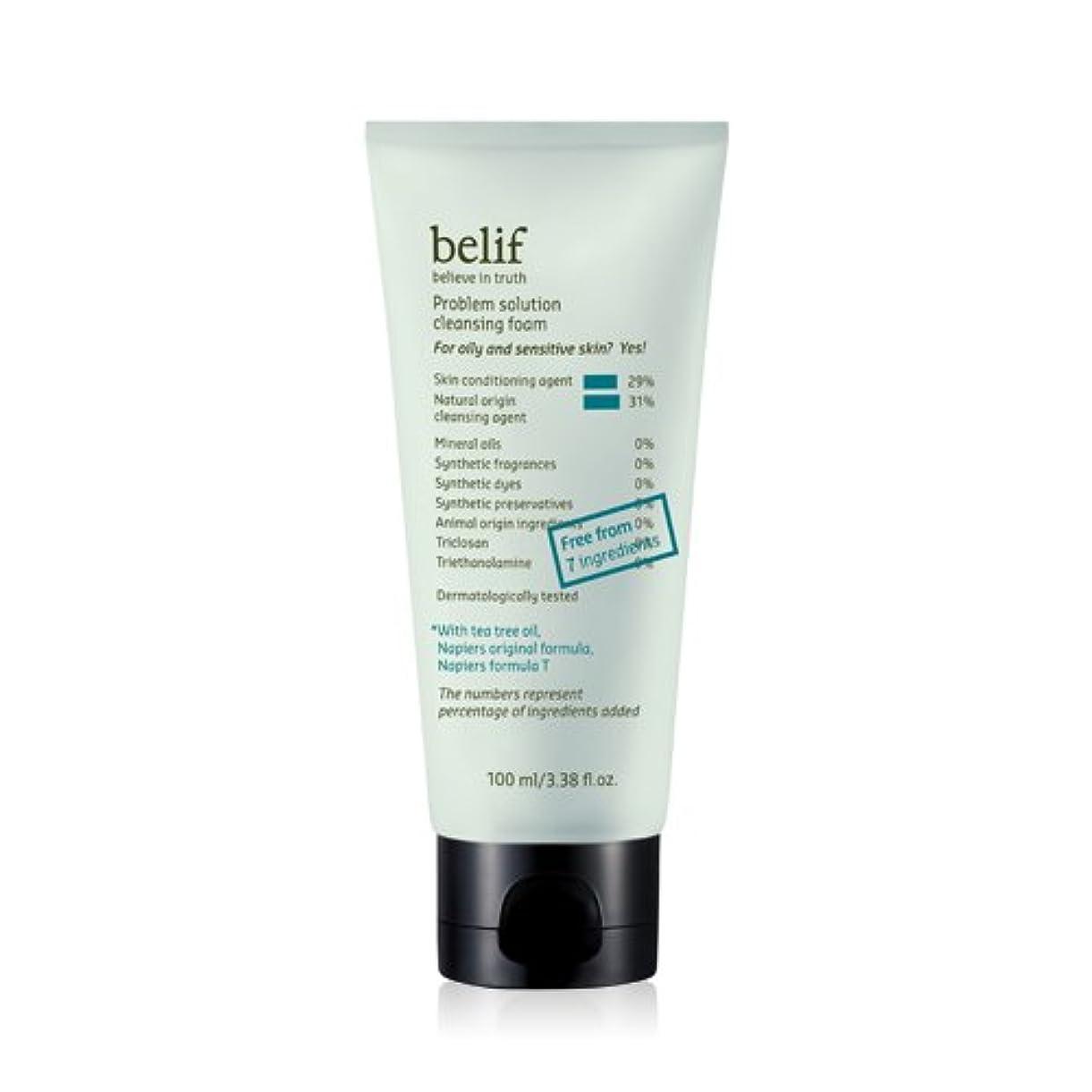 belf(ビリフ)プロブレム ソリューション グリーン クレンジング フォーム(Problem solution green cleansing foam)100ml