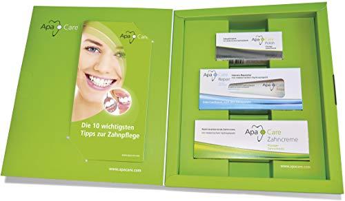 ApaCare Prophylaxe-Set Zahncreme/Repair/Polish | Flüssiger Zahnschmelz für empfindliche Zähne | ZUr Prophylaxe für Zuhause