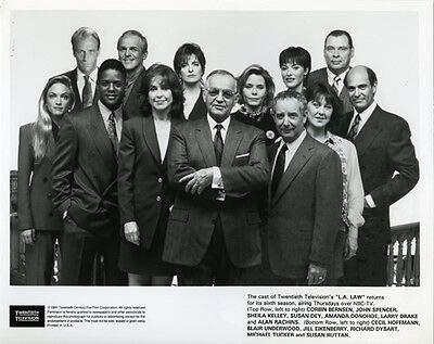 L.A. Law Corbin BERNSEN Susan DEY Amanda Donohoe Blair Underwood CAST Photo 8X10