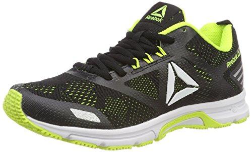 Reebok AHARY Runner, Scarpe Da Trail Running Uomo, Multicolore (Black/Solar Yellow 000), 42.5 EU