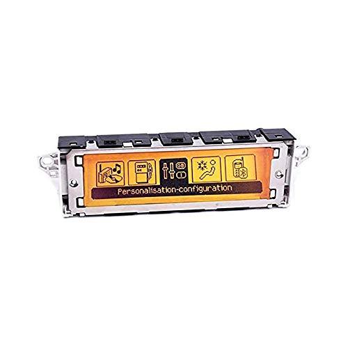 EUCparts - Pantalla multifunción para coche RD4, color amarillo con cambiador de CD, CD/AUX/MP3/USB de 12 pines, interfaz para Peugeot 307 407 408 C5
